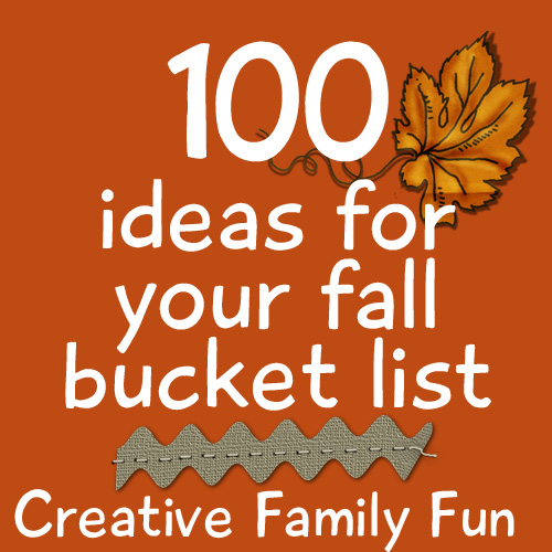 fall bucket list for adults