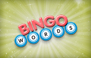 Bingo Words Logo - We Know Gamers