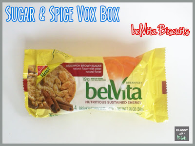 Sugar & Spice Vox Box from Influenster - Bel Vita Biscuits