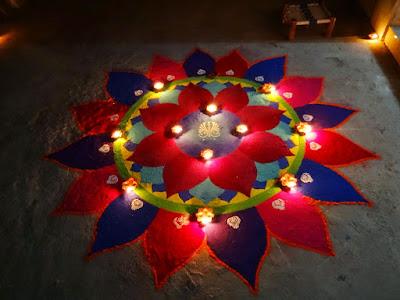 Diwali 2015 Rangoli Designs images