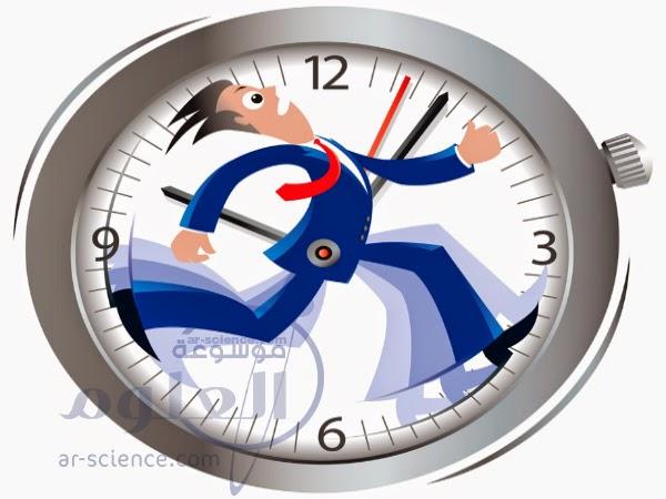 مشكلة ضياع الوقت , ادارة الوقت