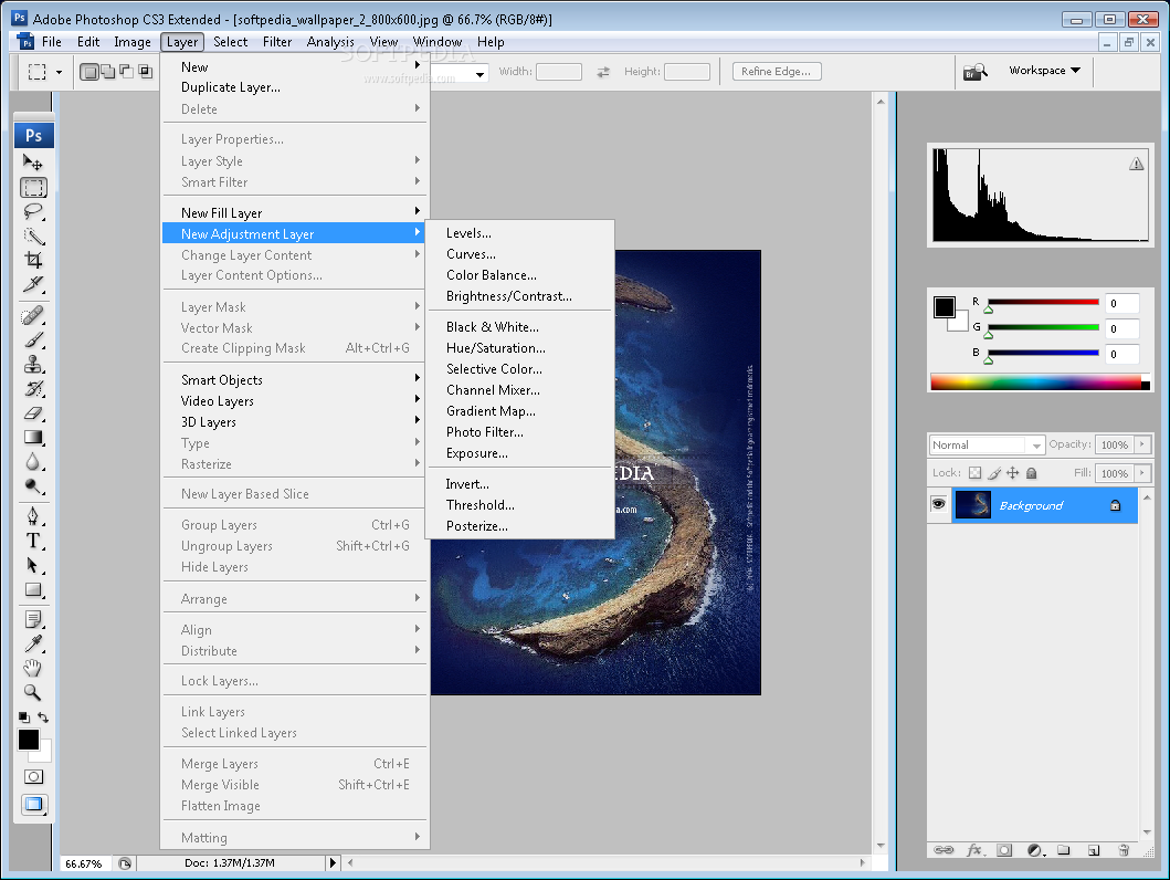 Adobe photoshop cs3 extended full version with crack