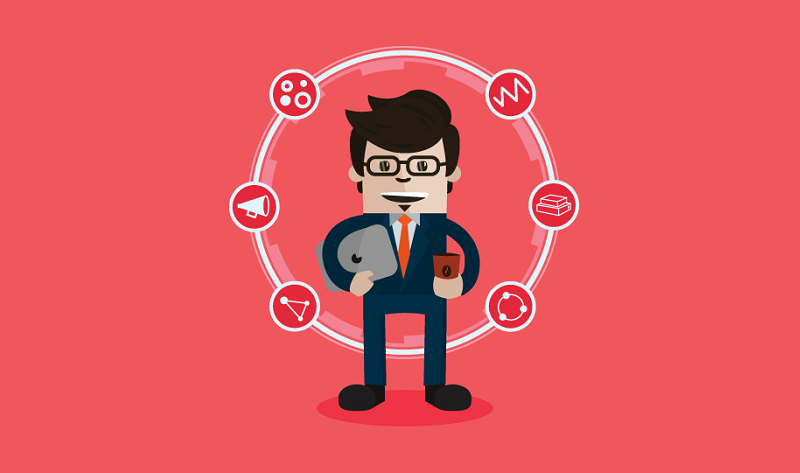 The Anatomy Of A perfect Social Seller [Infographic]
