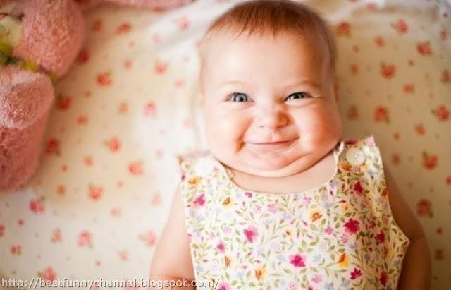 Very funny baby.