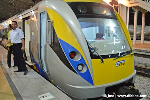 Railway Tourism   Pengalaman Menaiki Perkhidmatan Tren ETS ke Ipoh