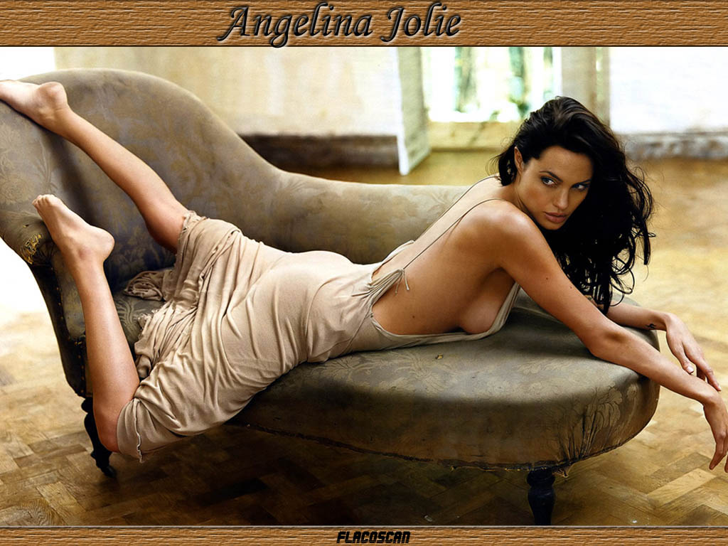 Hot Angelina Jolie Desktop Wallpapers Hd