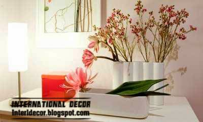 artificial plants for bedroom, stylish flowers