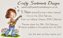 Crafty Sentiments Designs New Release!