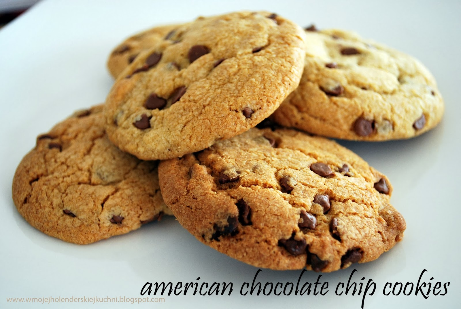 w mojej holenderskiej kuchni american chocolate chip cookies. Black Bedroom Furniture Sets. Home Design Ideas