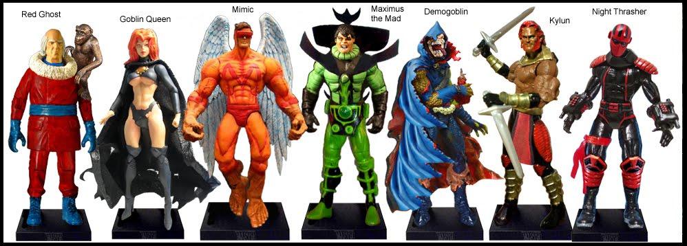 <b>Wave 32</b>: Red Ghost, Goblin Queen, Mimic, Maximus the Mad, Demogoblin, Kylun, Night Thrasher
