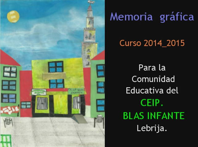 Memoria gráfica. Curso escolar 2014_2015