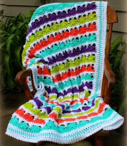Summer Day's Baby Blanket - Free Pattern