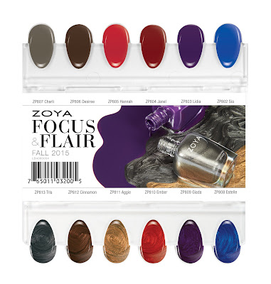 Zoya Focus & Flair for fall 2015