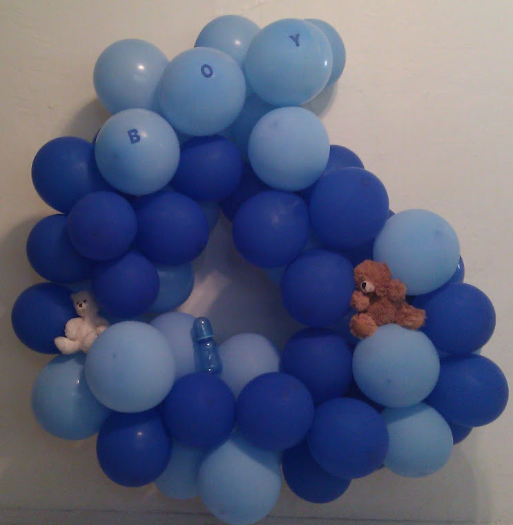 Balloon Cluster Balloon for Boy Baby Shower