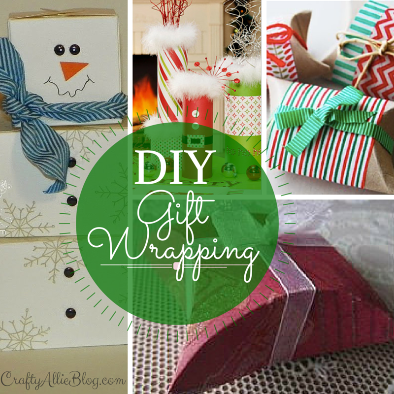 crafty allie 12 days of christmas day 7 unique gift wrapping options