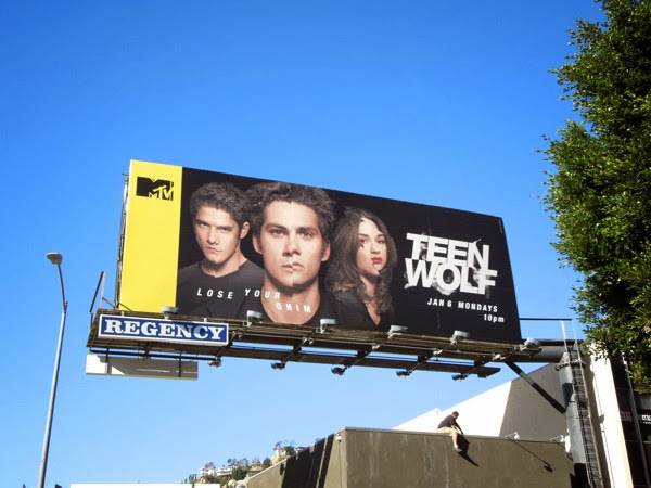 Teen Wolf midseason 3 billboard