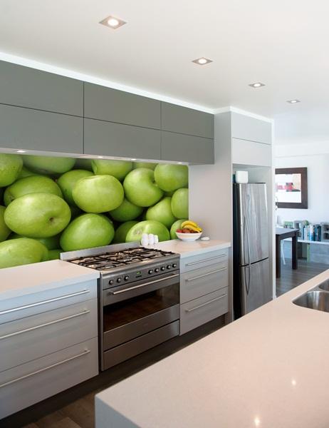 Papel pintado fotomurales alimentos - Empapelar azulejos cocina ...