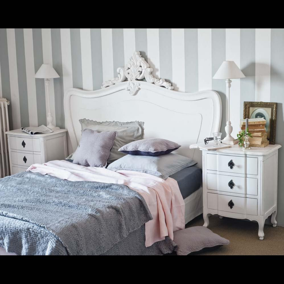 My lovely pink pages romanticism by maisons du monde - Tete de lit capitonnee maison du monde ...