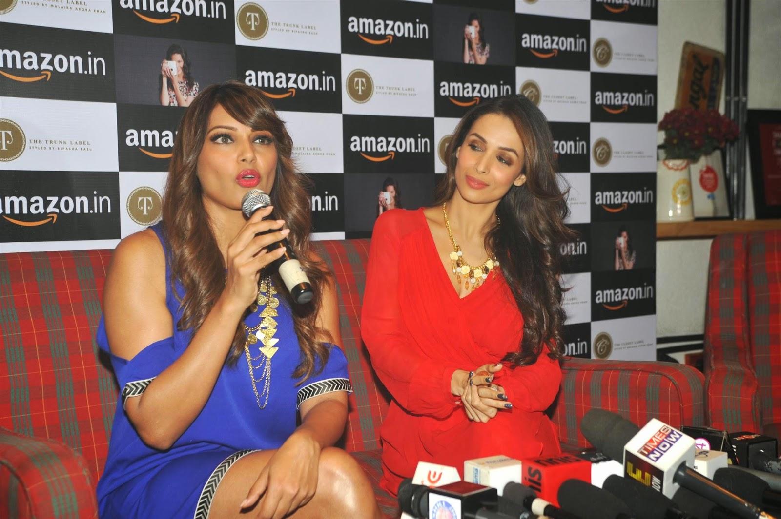 Bipasha Basu With Malaika Arora Khan at Amazon.in Event Photos