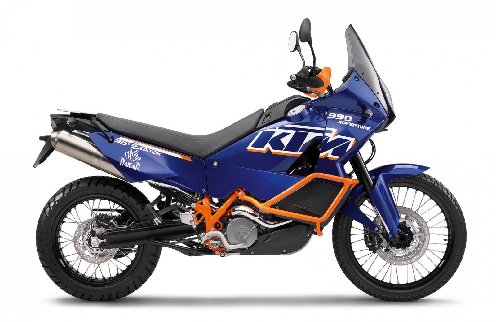 Motorcycle Pictures: KTM 990 Adventure Dakar 2011