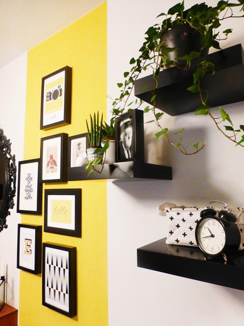 Dekoration Flur Pflanzen Plants Posseliesje Bilderwand Gallerywall