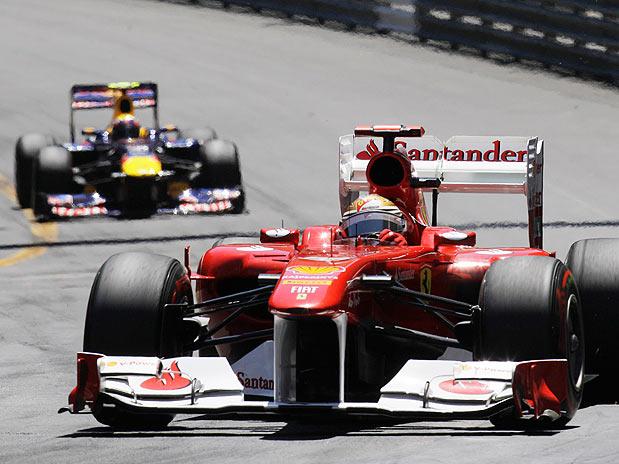 GP Mónaco -- Vettel mantém domínio numa corrida acidentada