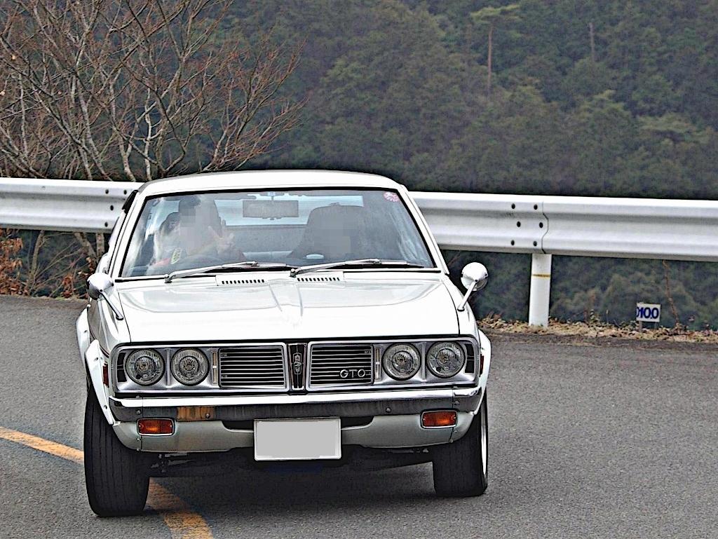 Mitsubishi Galant GTO, japoński sportowy klasyk, oldschool, rwd, fotki