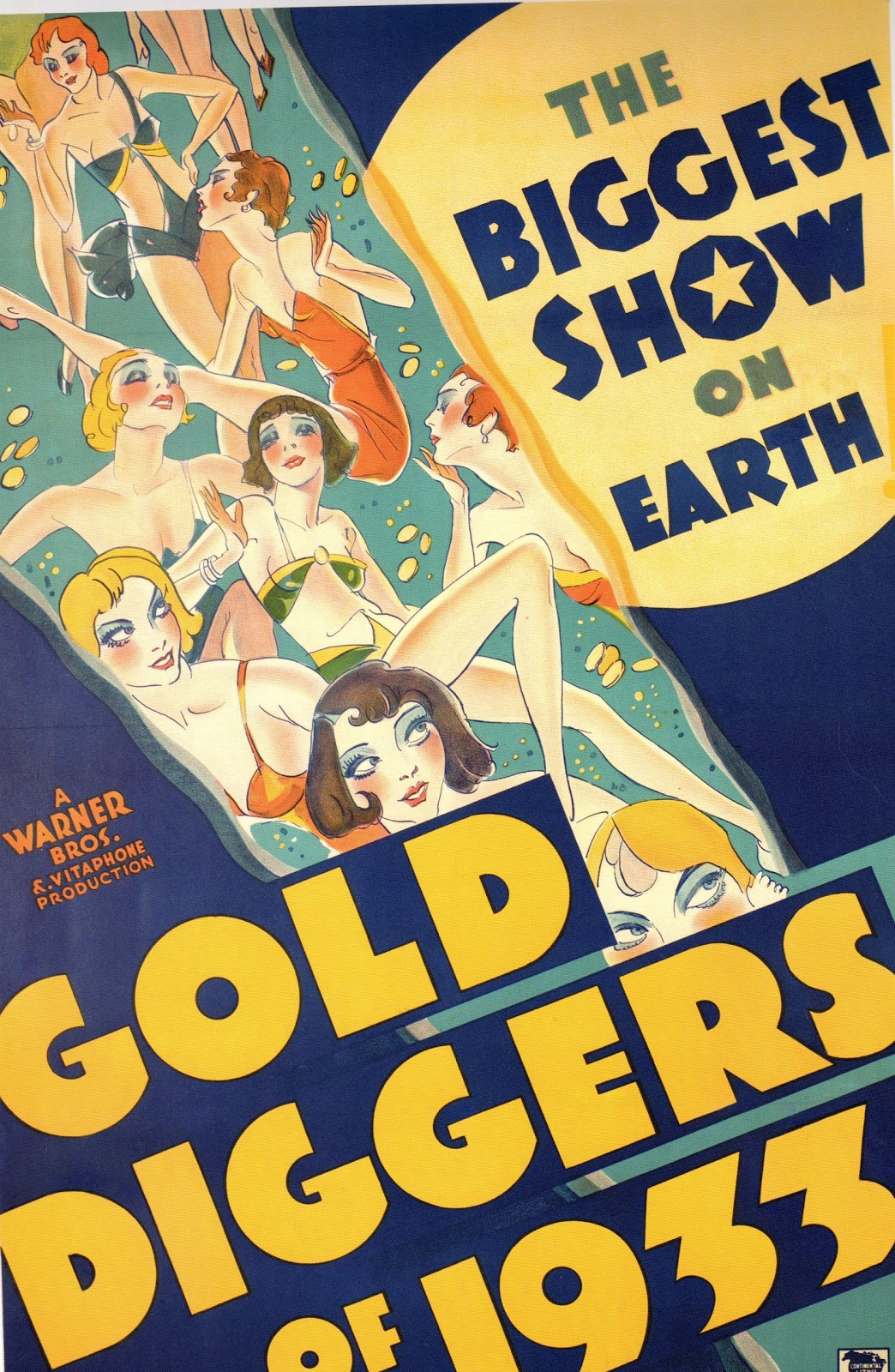 gold diggers of 1933 When contemporary hollywood struggles with female lead films, gold diggers of  1933 features four diverse female leads in the classic musical.