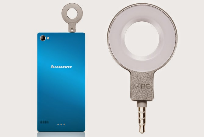 LENOVO introduces Vibe Xtension Selfie Flash accessory