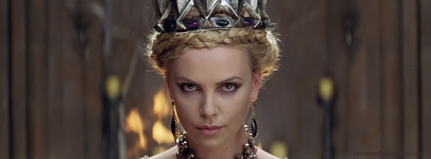 Facebook Cover Of Queen Charlize Theron.