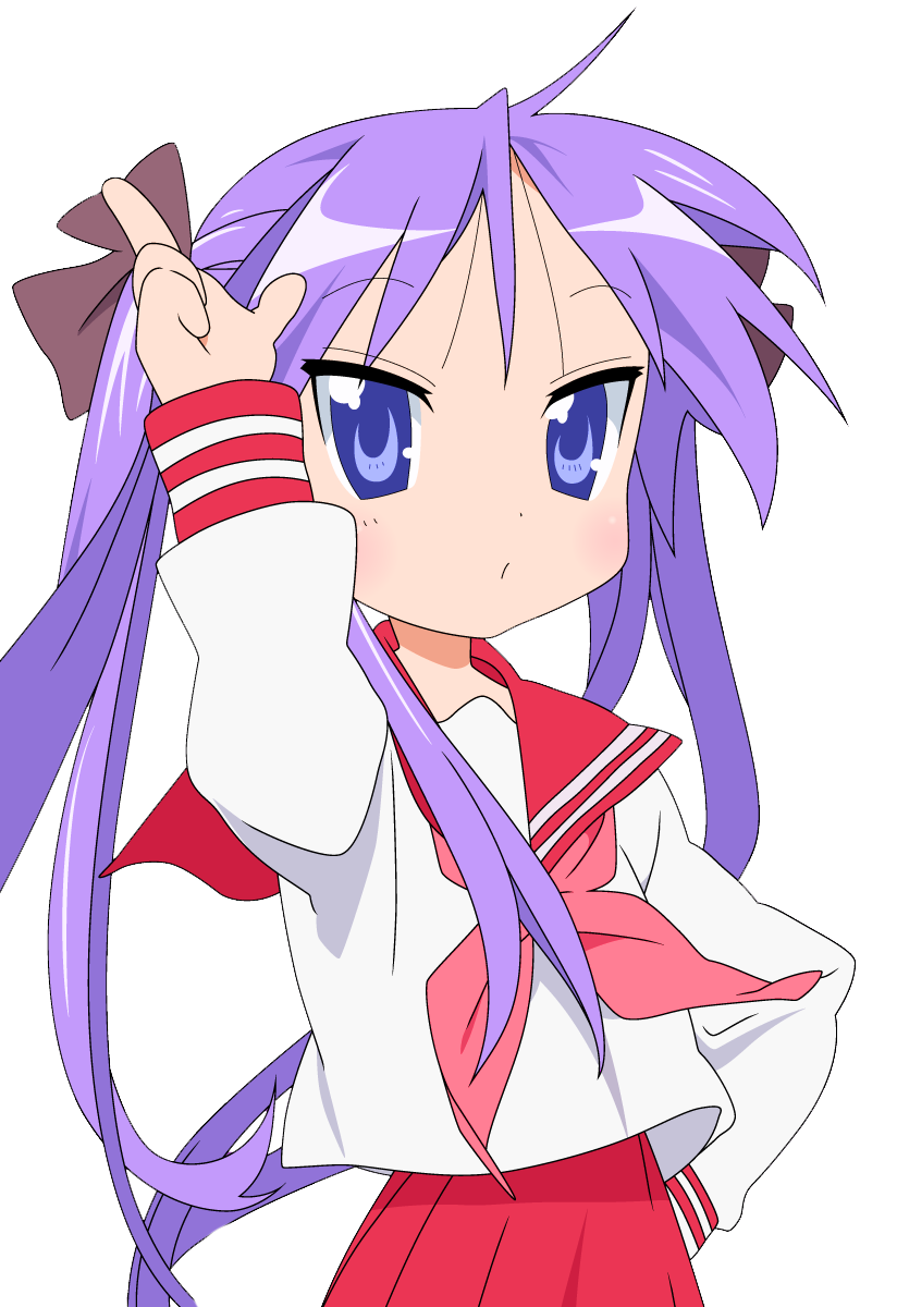 Top 25 de Chicas Anime del estudio Kyoto Animation Kagami_2