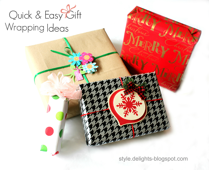 Creative Gift Wrapping Ideas, Holiday Gift Wrapping, #HappyAllTheWay, #shop, #cbias