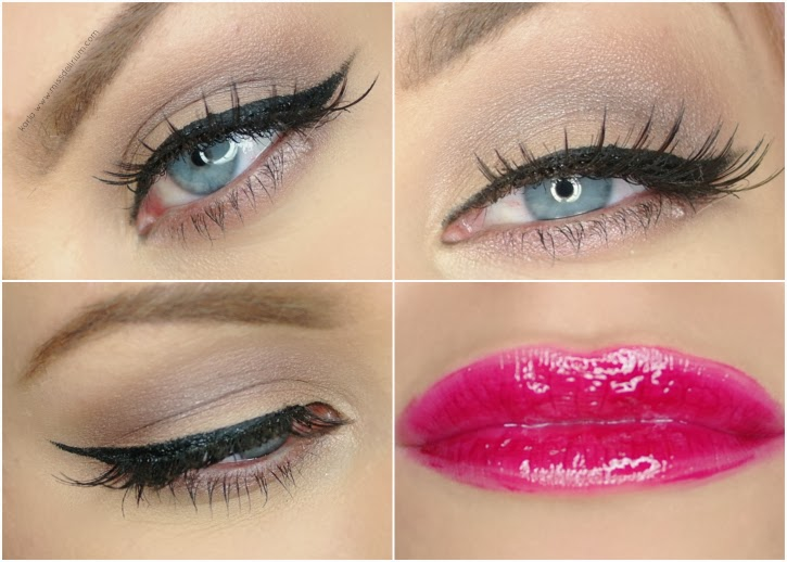 Makeup Collage MAC Satin Taupe, Chanel Crushed Cherry Lipgloss