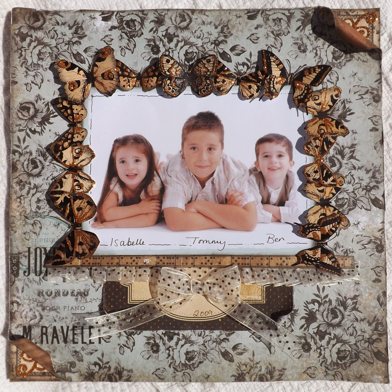 March Scraplift Challenge 2014
