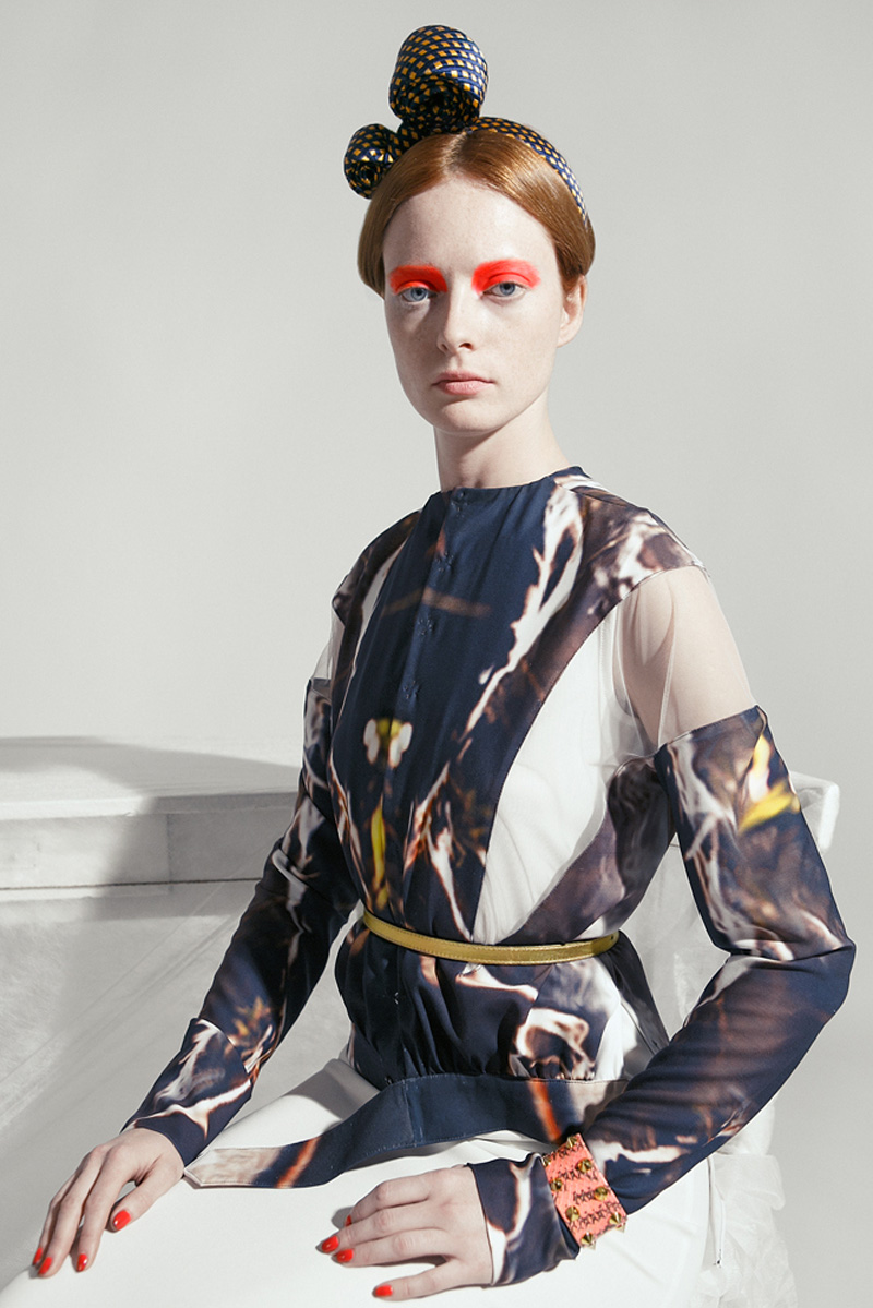 Editorial Thornfield in Flame Vogue Italia