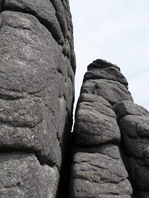 Granite rocks of Haytor Dartmoor