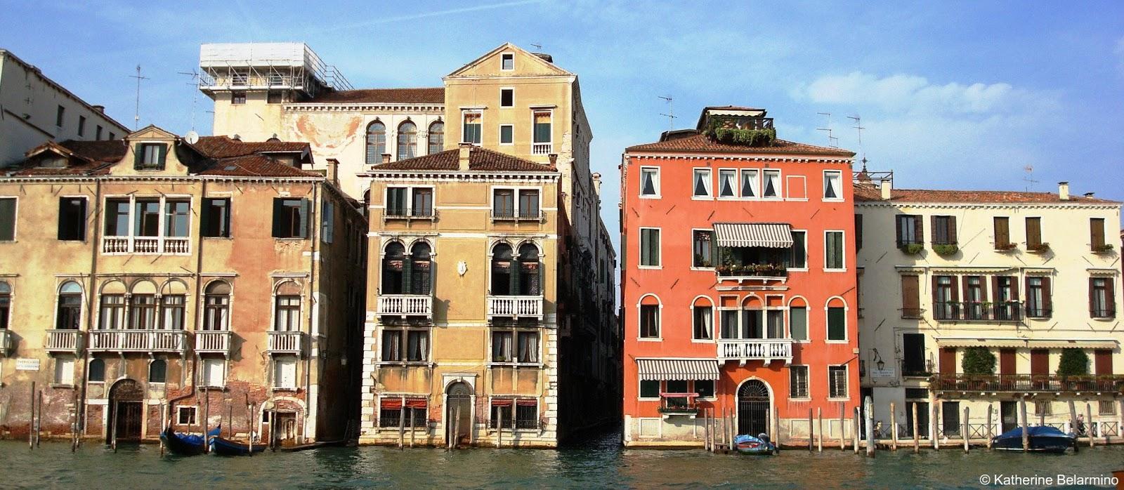 Venetian Buildings venice beyond st. mark's square | travel the world