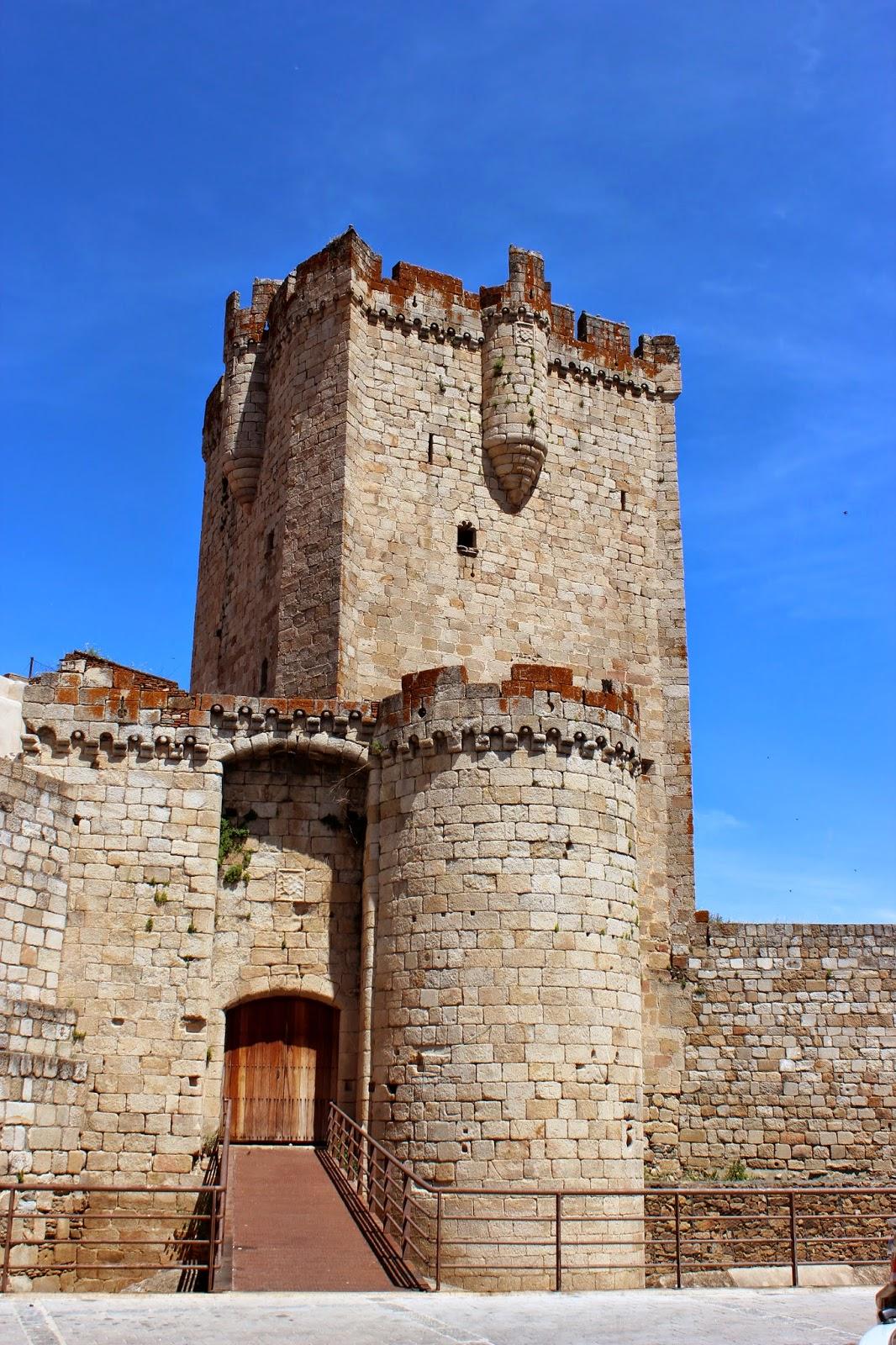 Castillo de Coria y torre del Homenaje