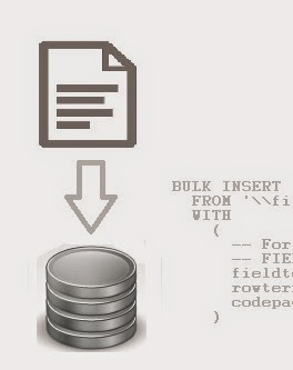 T-SQL BULK INSERT -  Import Text File into SQL Server Database Table