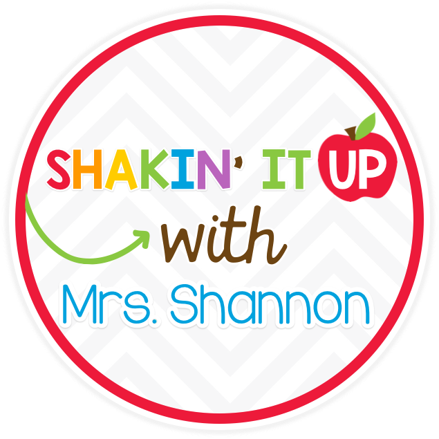 Shakin' it up with Mrs. Shannon