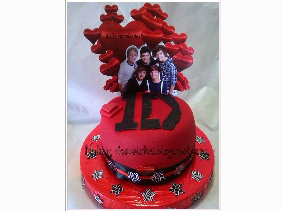 Tarta One Direction