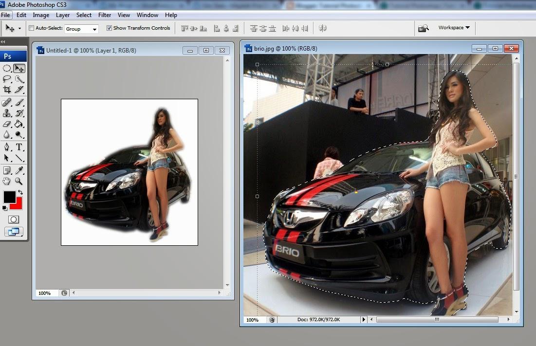 Cara Edit Foto Seperti Photo Studio Dengan Photoshop ...