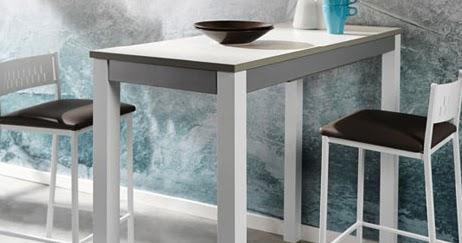 Mesa cocina alta taburete tu cocina y ba o - Mesa alta cocina ...