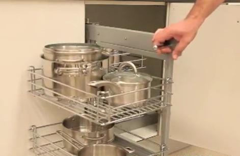 I d e a el espacio en la cocina soluciones para armarios en esquina - Muebles de cocina en esquina ...