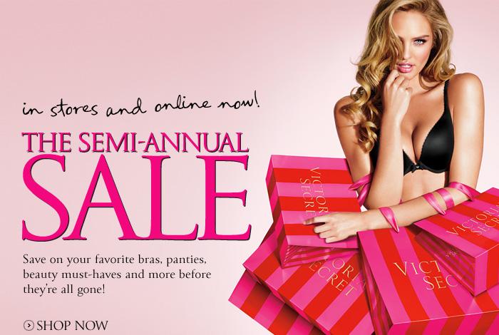 semi annual sale victoria s secret in stores victoria secret annual ...