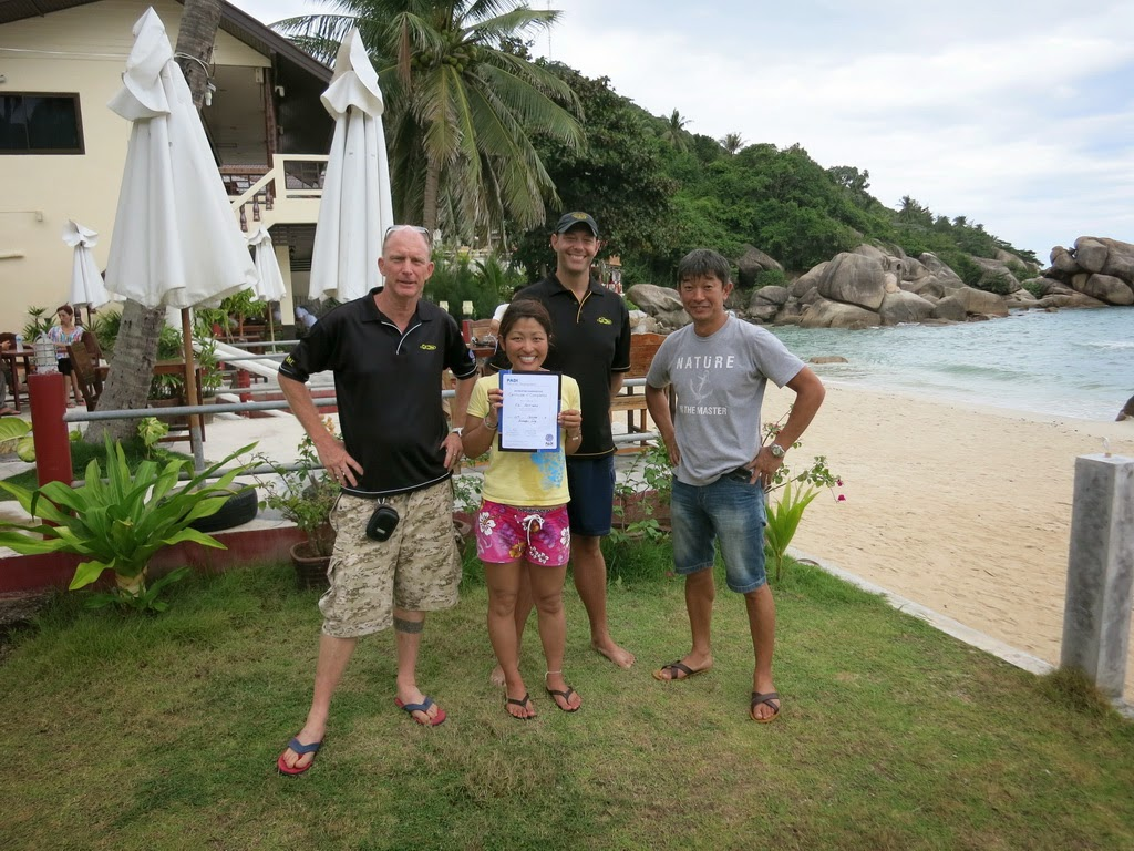 PADI IE October 2014, Koh Samui, Thailand