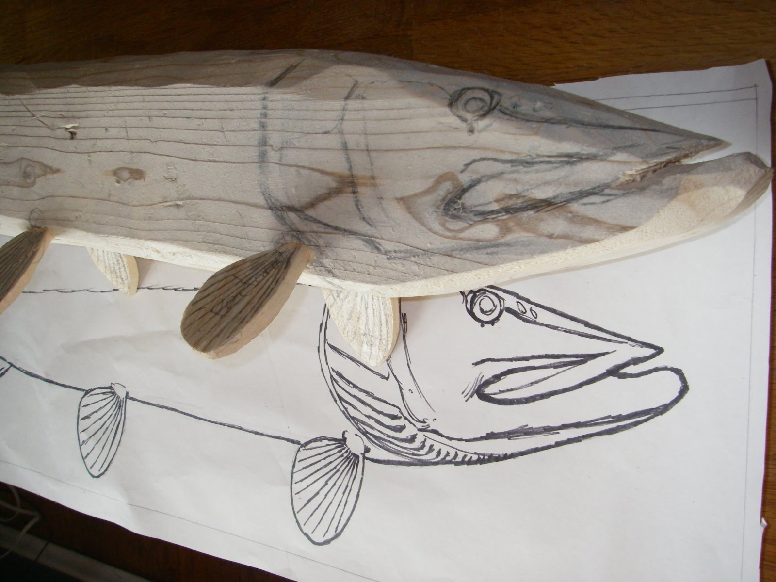 Trout Wood Carvings Bing Images