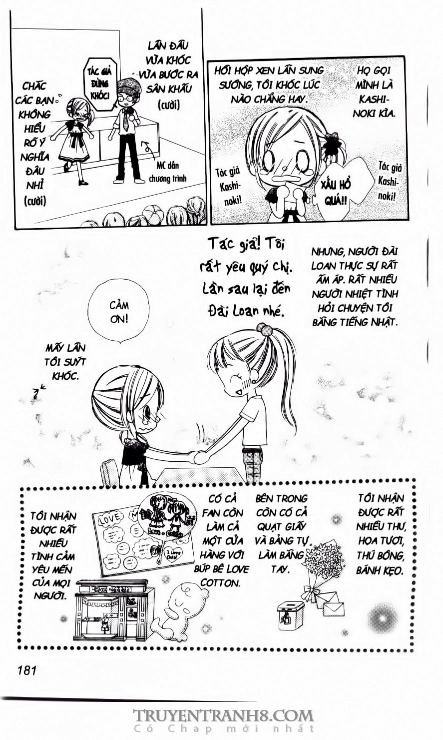 TruyenHay.Com - Ảnh 11 - Tiệm Thời Trang, Love Cotton Chương 31