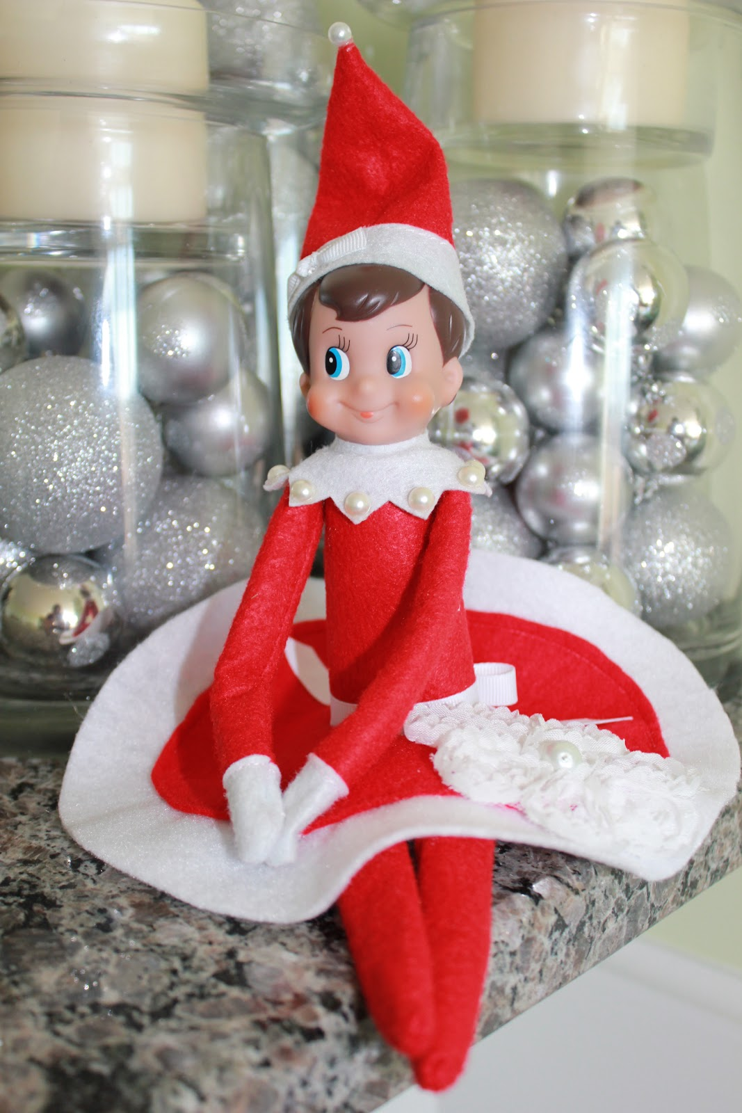 Cooper & Chloe: Elf on the Shelf: Bedazzled