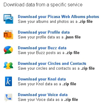 export-data-google-account